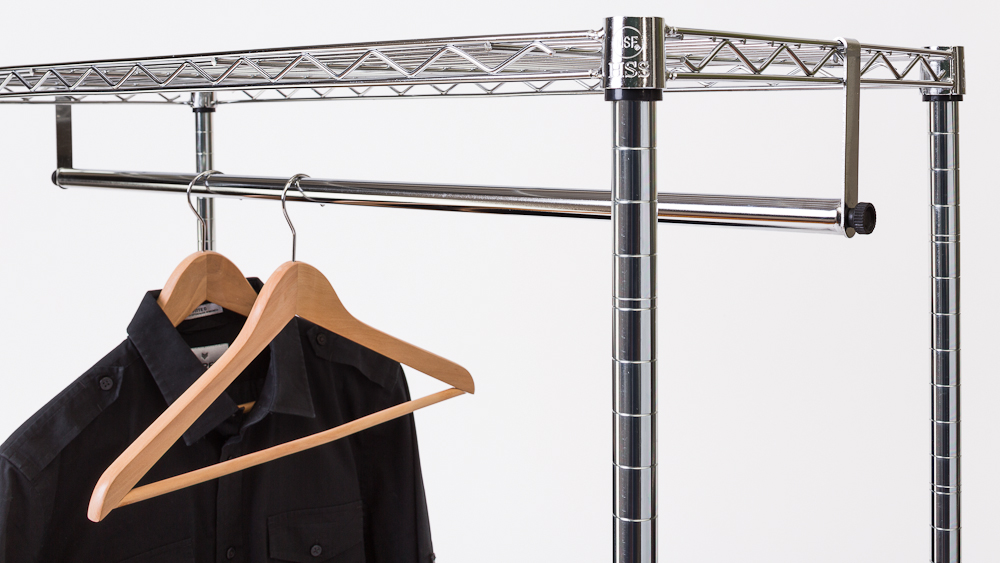 Clothes Bar For Hanging Garments Clothes Hanging Bar