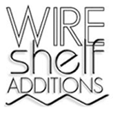 wire shelf with plastic locks